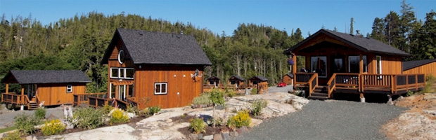 Cabins in Port Hardy