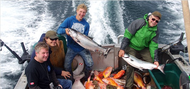Salmon and Halibut Fishing Charters